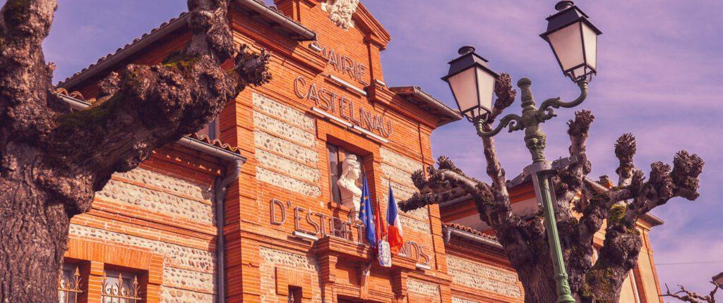 mairie castelnau d'estrétefonds