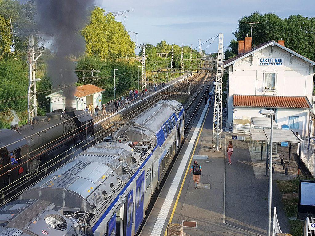 gare castelnau train historique