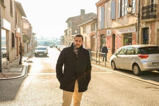 Sébastien Verdeau-Borne souhaite dynamiser le centre-ville de Castelnau d'Estrétefonds